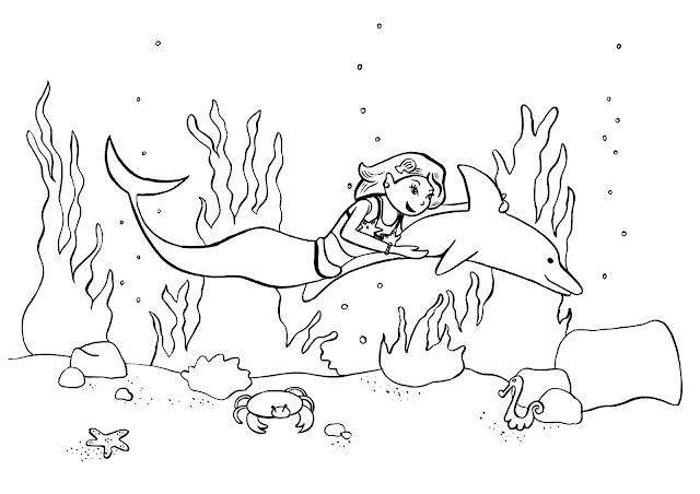 Les devoirs d'AquarL: Coloriage #2
