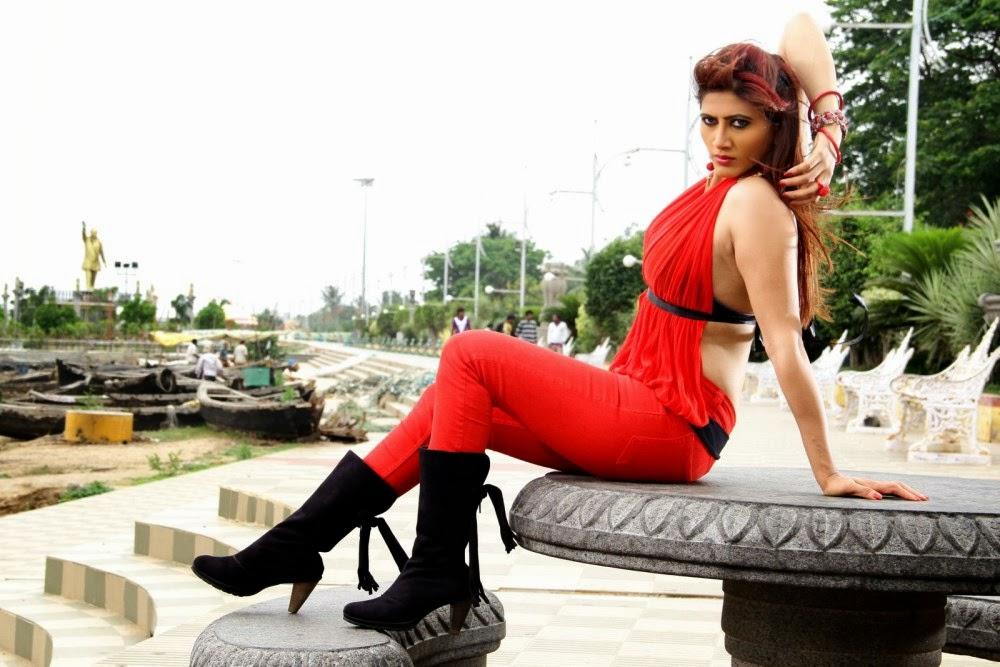 Rishika singh hot in red, Rishika hot photos, Rishika sexy pics