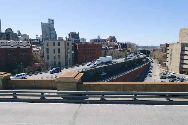 ブルックリン橋(Brooklyn Bridge)からの眺め