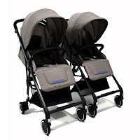 chris & olins 701 mini detachable twin stroller