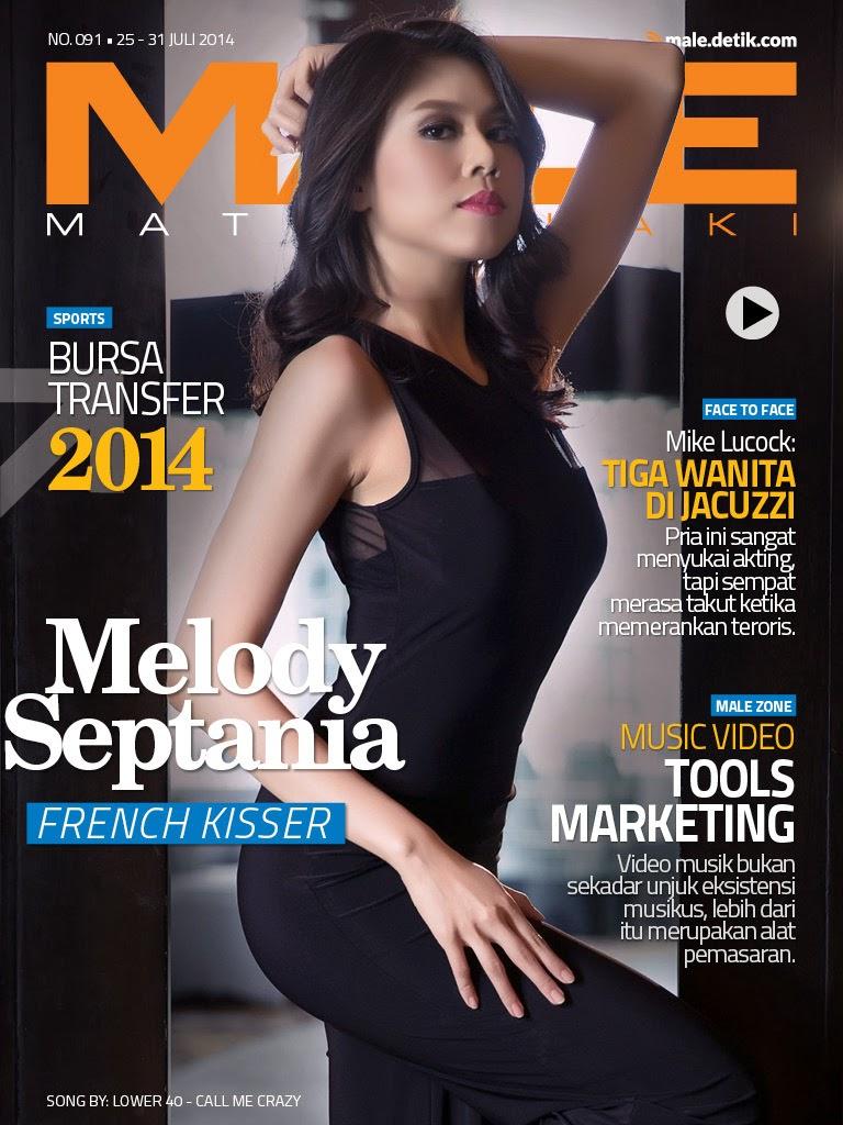 Foto Melody Septania Di Cover Majalah Male Juli  T   Diposkan Oleh Unknown