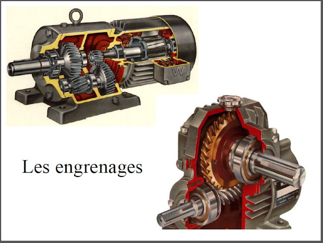 Télécharger Presentation cours engrenages.pdf - Principe de fonctionnement - Caractéristiques  Différents types d'engrenages - Calcul d'engrenages