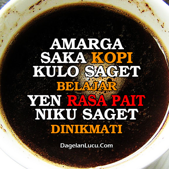 kata bijak jawa tentang kopi