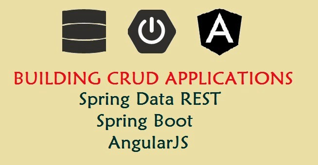 CRUD using Spring Data Rest and AngularJS using Spring Boot