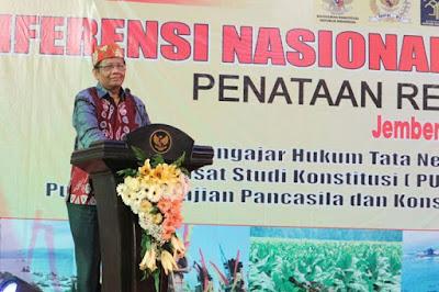 Mahfud MD Mengaku Bersedia jika Jadi Cawapres bagi Jokowi - Info Presiden Jokowi Dan Pemerintah