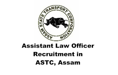 Assistant Law Officer Recruitment in ASTC, Assam: 2019 : Walk-in-interview