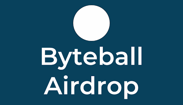 Airdrop by Byteball - 12$ worth of BYTES tokens
