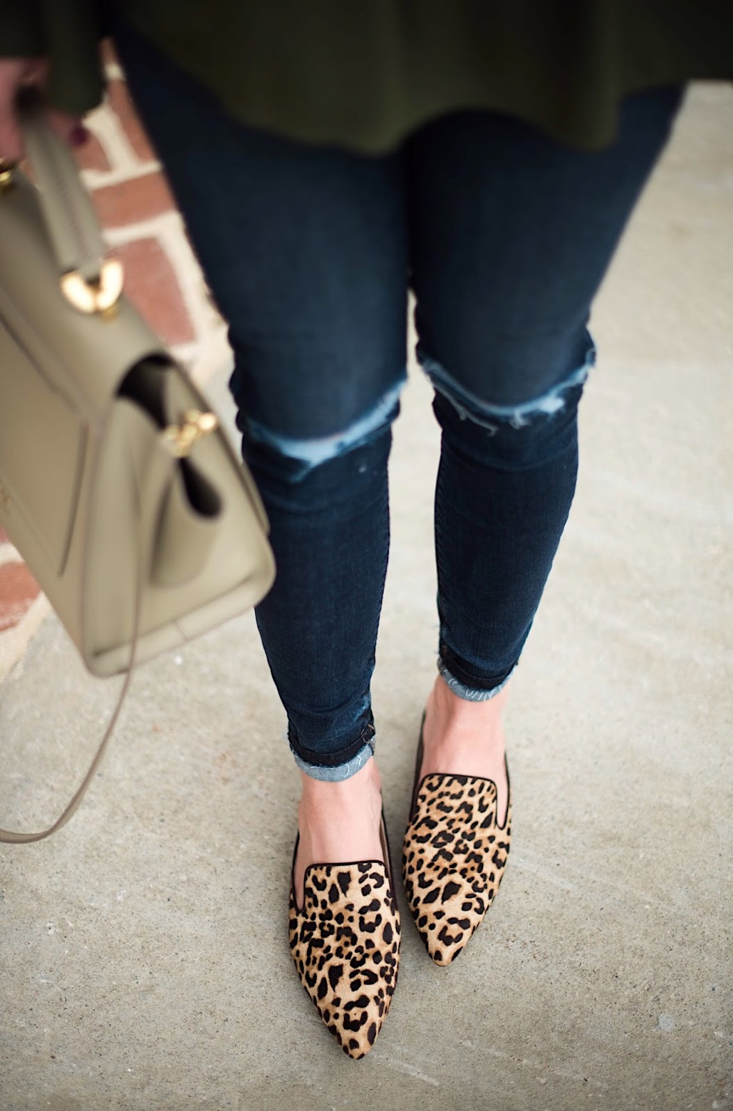 Sam Edelman Leopard Slides - Something Delightful Blog @racheltimmerman