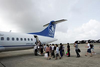 VASCO khai thác đường bay TP HCM - Côn Đảo