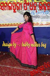 Sambalpuri dress for Kids
