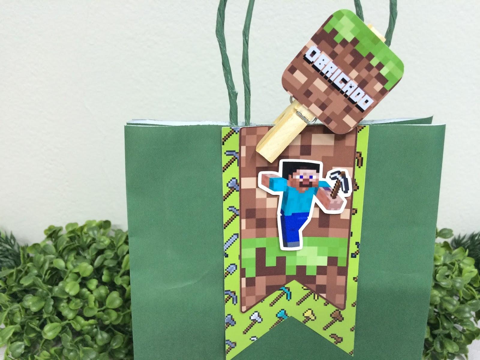 Festa Minecraft  o sucesso do momento