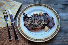 Steak Ribloin Wagyu Yang Terlajak Sedap