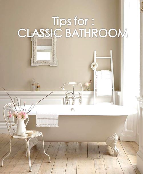 7 Tips to Make A Classic Rest Room