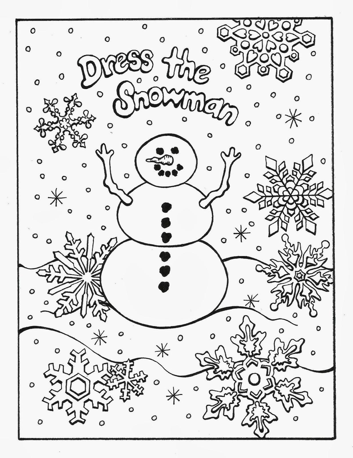 Serendipity Hollow: Dress the Snowman!