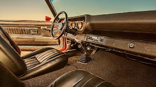 1971 Chevrolet Camaro LS-7 Dashboard