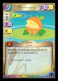 My Little Pony Orange, You Glad High Magic CCG Card