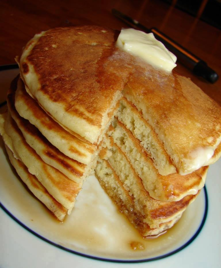 Food And Cook Old Fashioned Pancakes