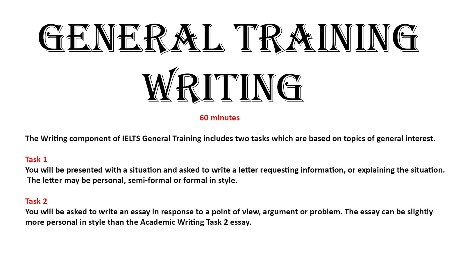 ielts general writing task 2 sample