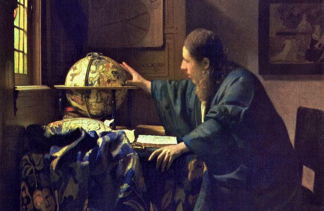 Astronomo, de Jan Vermeer