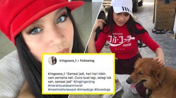 King Coco Buat Hal Lagi! Pegang Anjing Sambil…Buat Ramai Terkedu!!