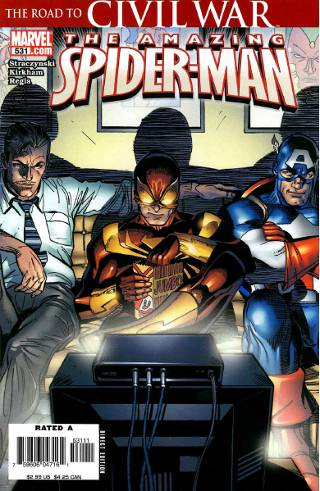 Civil War: Amazing Spider-Man #531 PDF eBook
