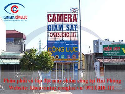 Công ty TNHH TBCN Cộng Lực - Địa chỉ lắp đặt máy chấm công vân tay Ronald Jack X628 Plus hàng đầu tại Hải Phòng, Hải Dương, Quảng Ninh, Thái Bình.