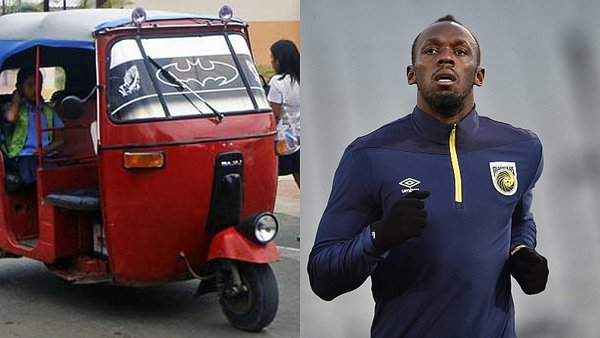 Usain Bolt llega hoy al Perú y competirá contra una mototaxi