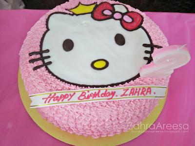 Kek birthday hello kitty