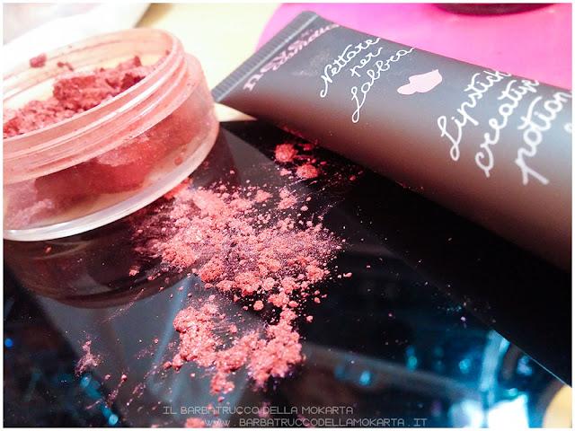 nettare labbra lipstick rossetto idratazione gloss blush minerale