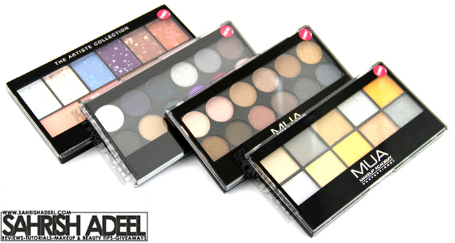Haul - MUA, Sleek, NYX & Cherry Culture - December 2012