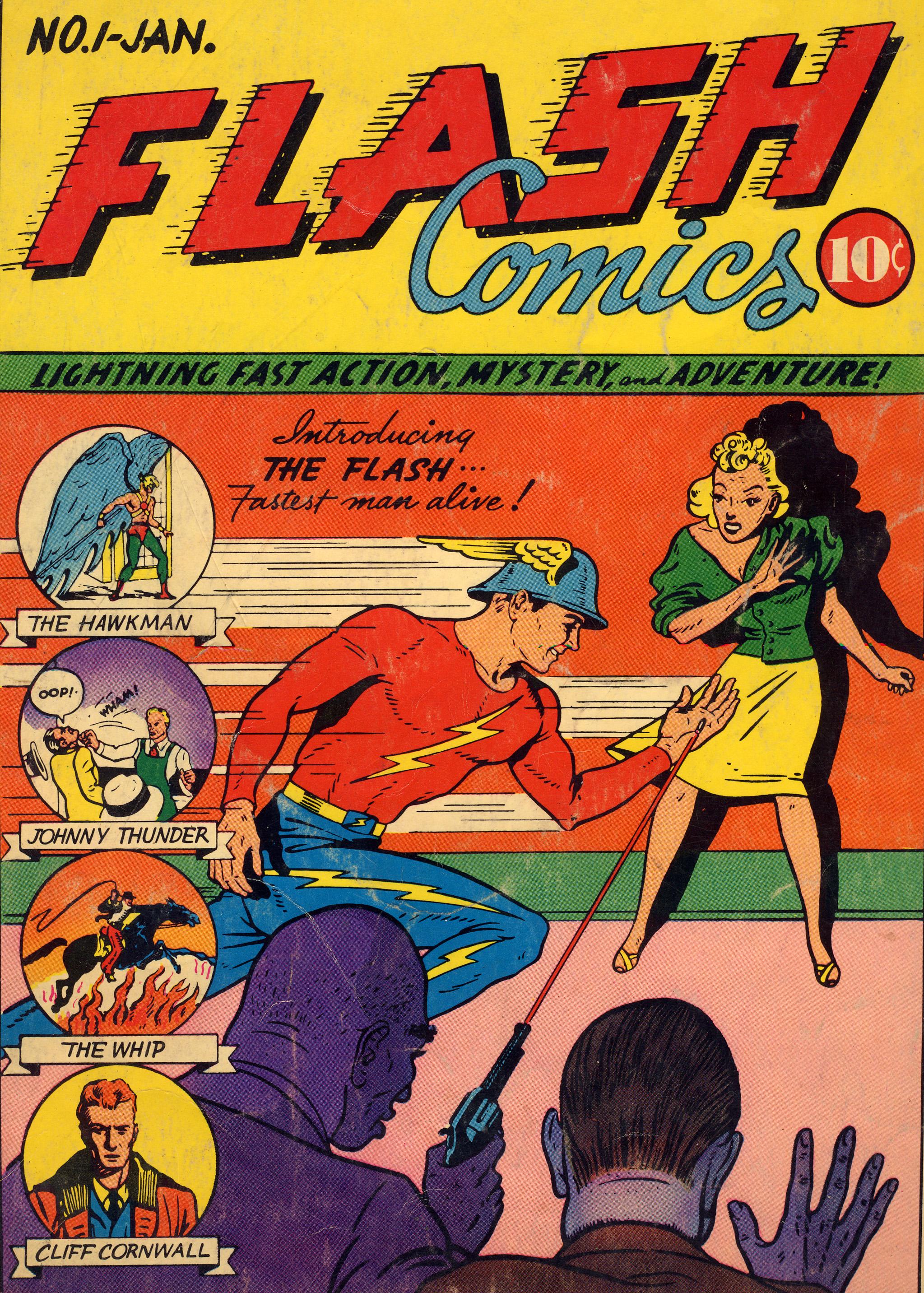 Flash Comics 1 Page 1