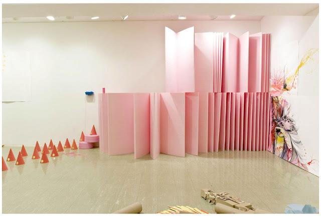 Kimberley Henessey installation