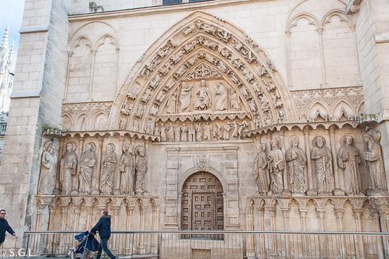 Puerta de la coroneria. Catedral de Burgos