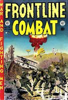Frontline Combat v1 #13 ec golden age comic book cover art by Wally Wood
