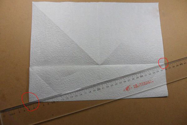 Ангел из бумаги в технике оригами (5)