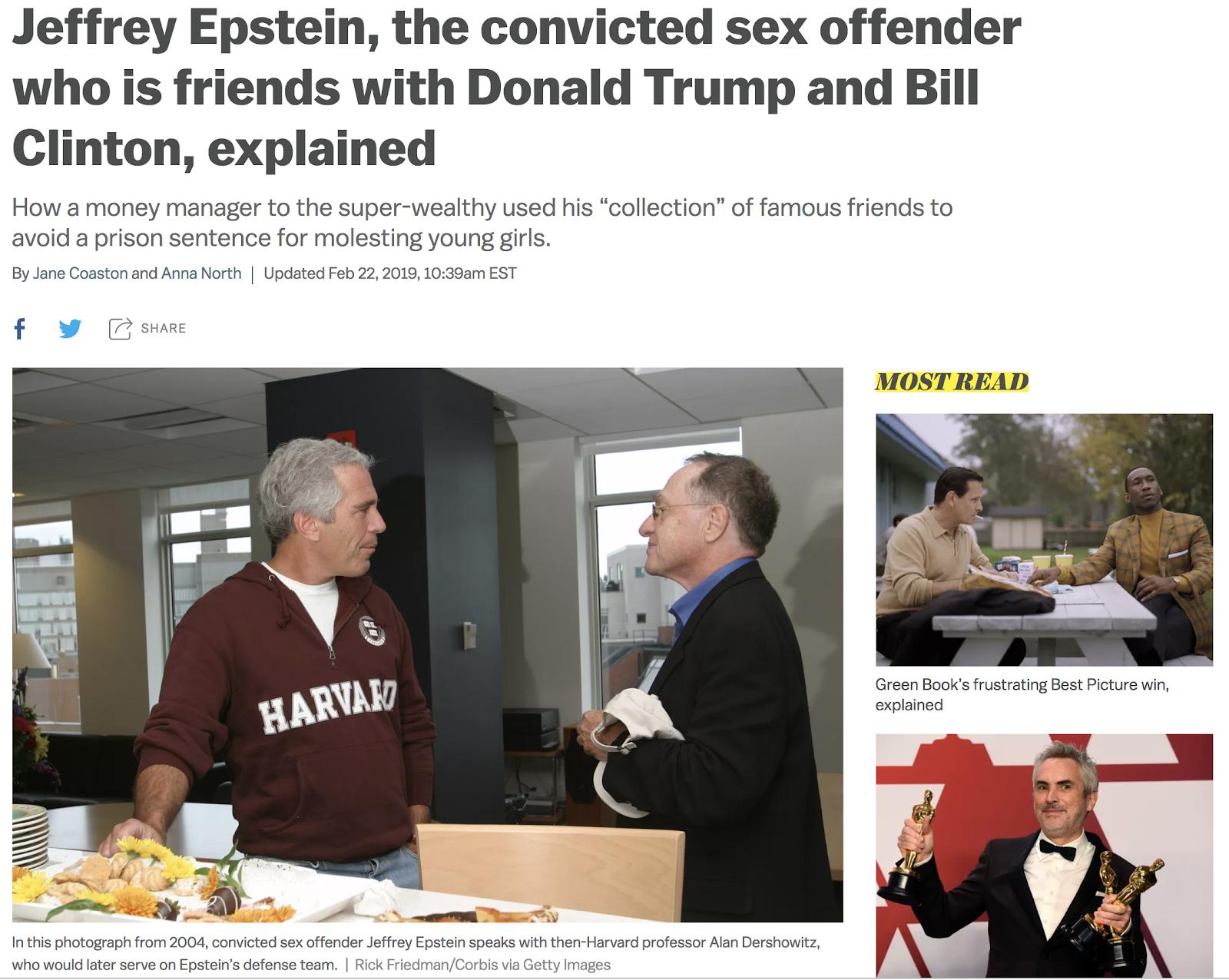 La verità su online dating Epstein