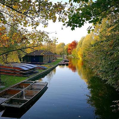 Río Cam, Cambridge