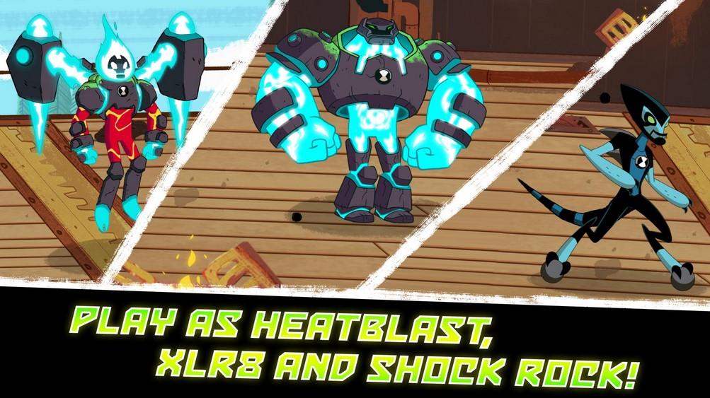 [FREE] Download Ben 10 - Omnitrix Hero: Aliens vs Robots for Android