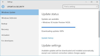 Dapatkan Fitur Terbaru Windows 10 dengan Upgrade Build 14328