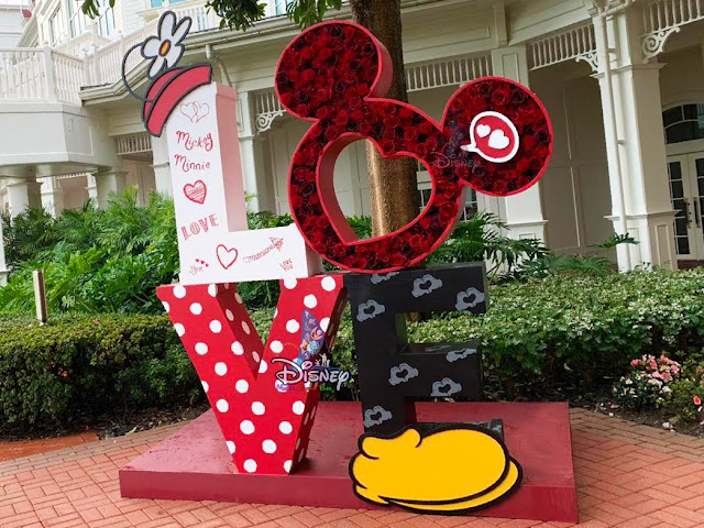 2020 情人節, 香港迪士尼樂園, Hong Kong Disneyland Valentine's Day