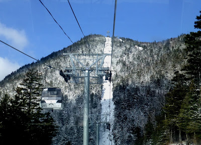 Whiteface Mountain, Monday 4/02/2018.  The Saratoga Skier and Hiker, first-hand accounts of adventures in the Adirondacks and beyond, and Gore Mountain ski blog.