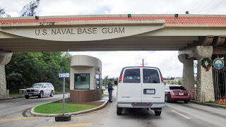 Guam Naval Base Entrance