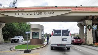 Guam Naval Base Entrance