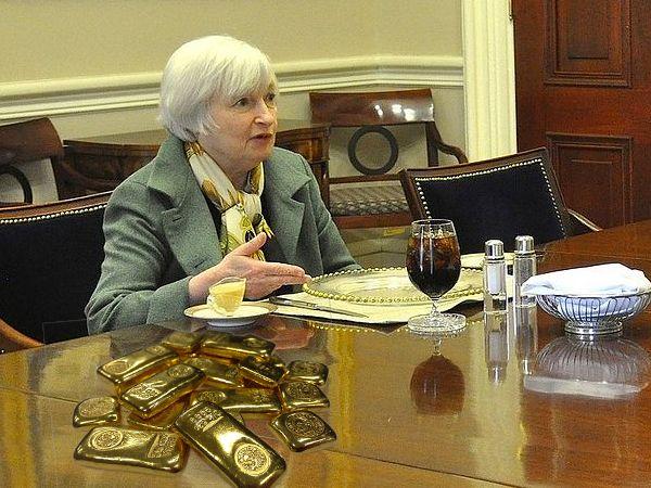 Precio del oro FED