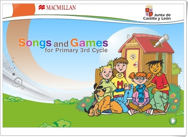"""Songs and Games"" de Macmillan. 5º y 6º de Primaria."