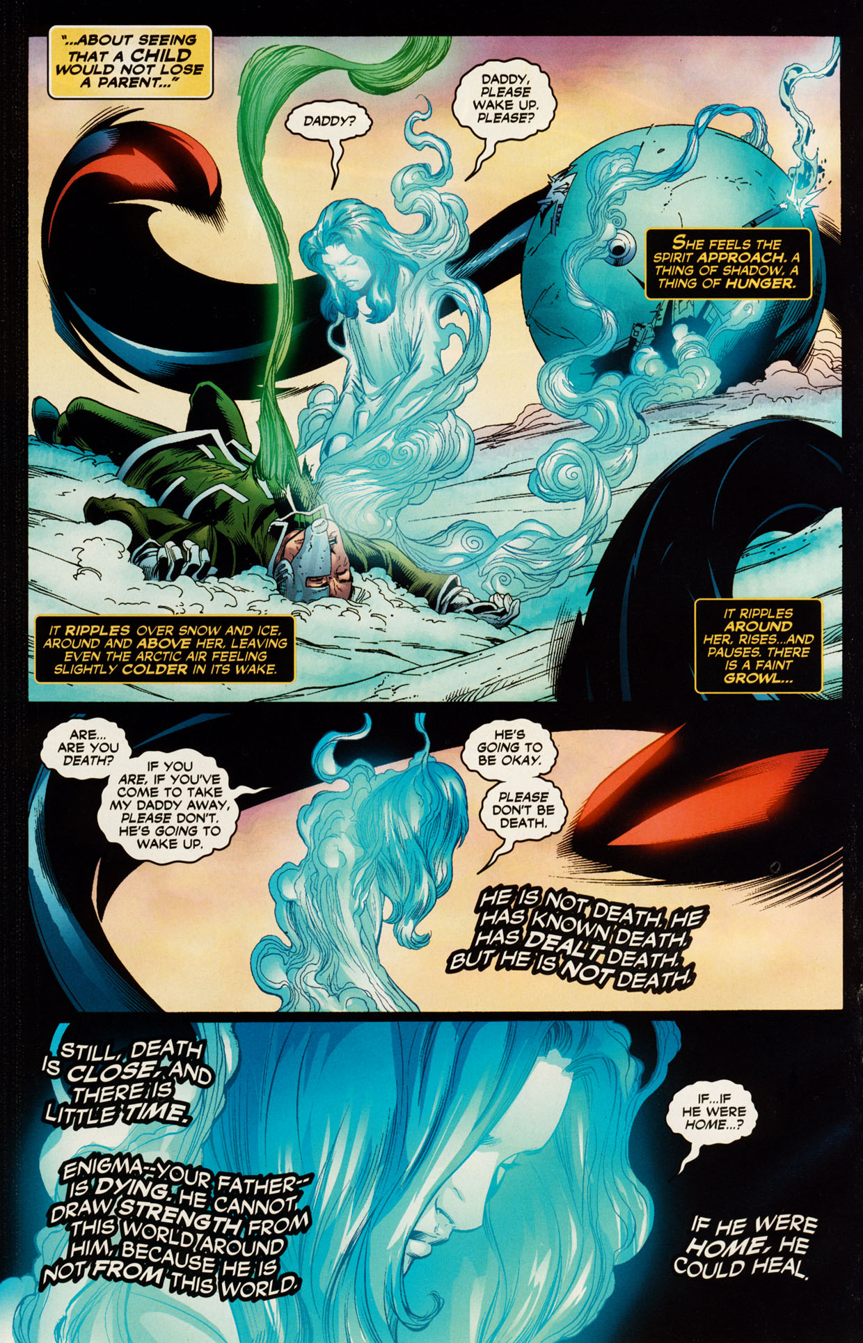 Read online Trinity (2008) comic -  Issue #51 - 19