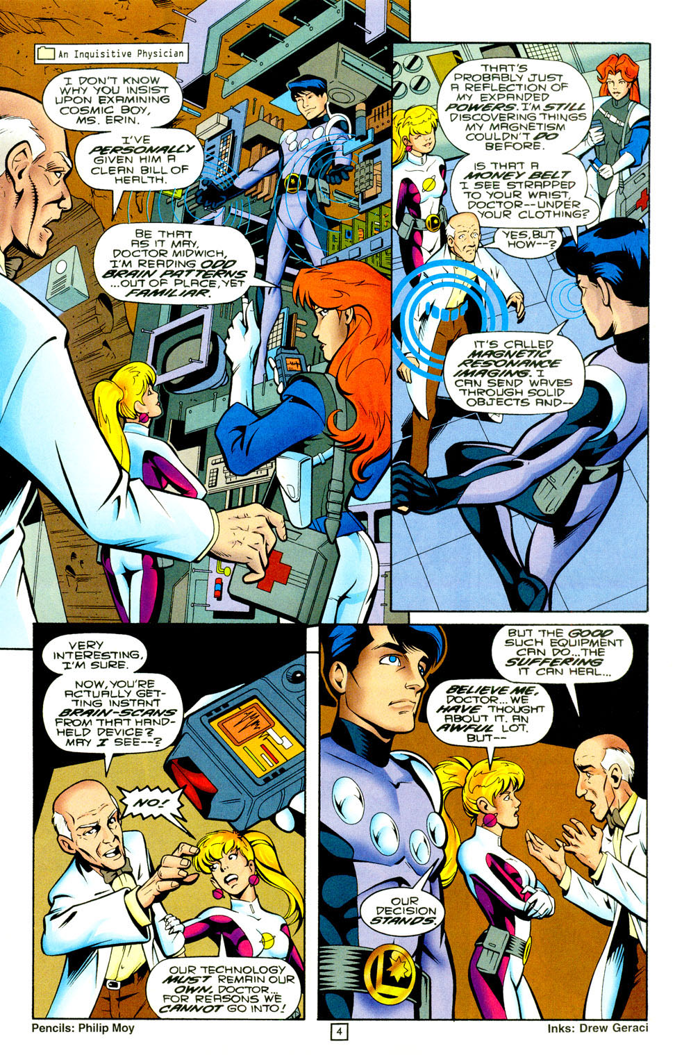 Legion of Super-Heroes (1989) 94 Page 4