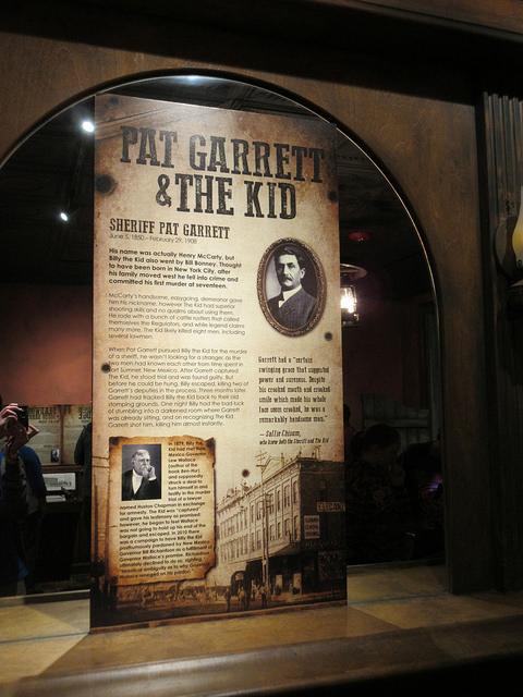 Pat Garret and The Kid Poster at Alcatraz East