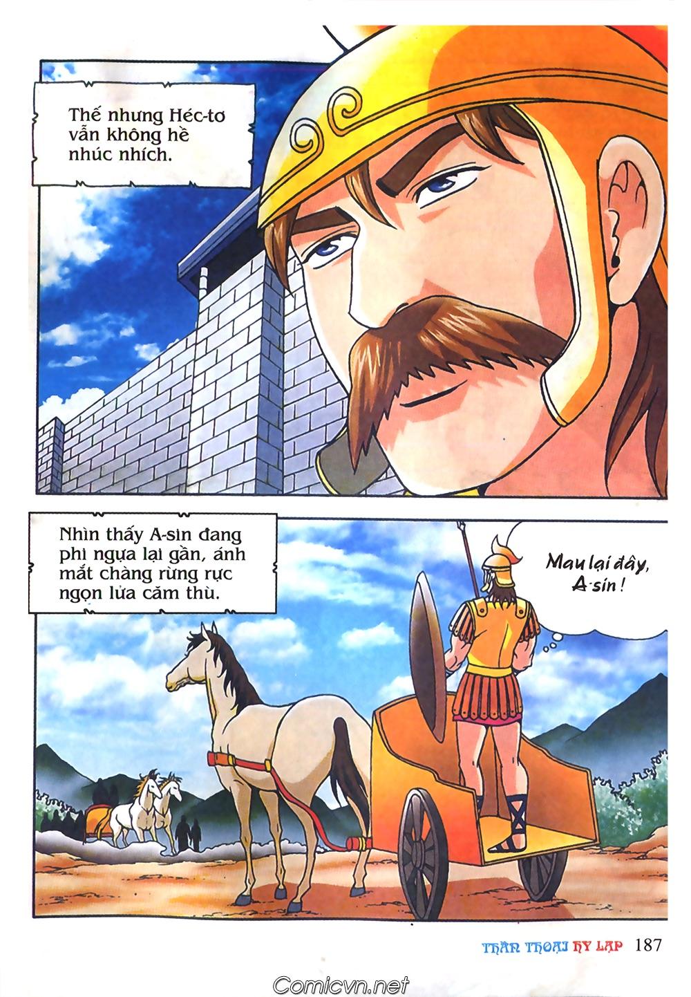 Thần Thoại Hy Lạp Màu - Chapter 61: So tài của hai vị tướng - Pic 16