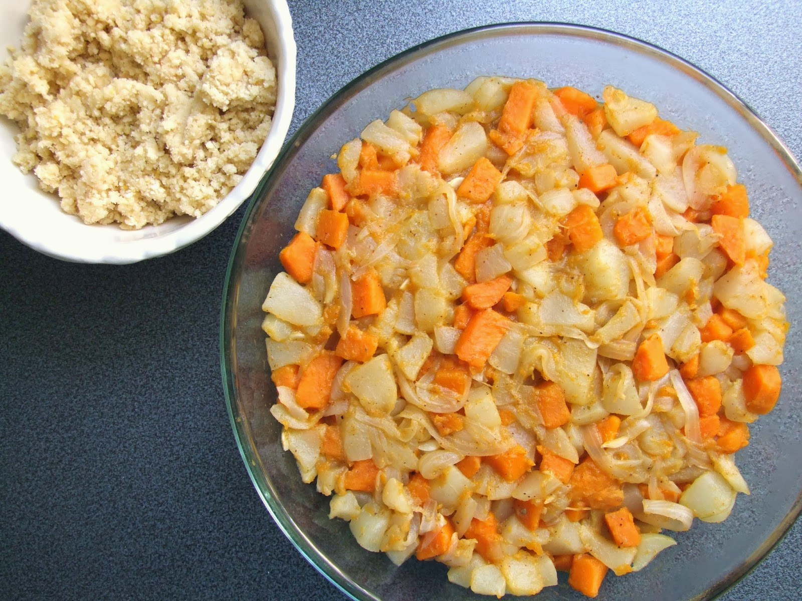 Cooking Julia Crumble De Patisson Et Patate Douce